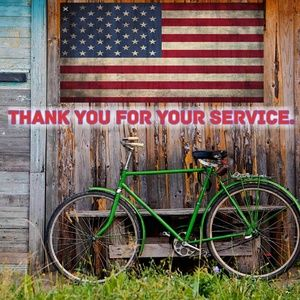 Thank you past & current military service members.